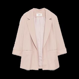 このコーデで使われているsnidelのジャケット[ピンク]