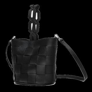 このコーデで使われているZARAのハンドバッグ[ブラック]