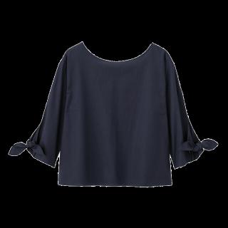 このコーデで使われているGUのシャツ/ブラウス[ネイビー]