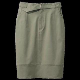 このコーデで使われているIMAGEのタイトスカート[カーキ]