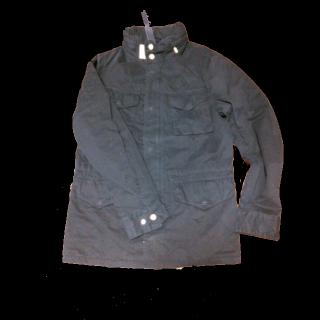 このコーデで使われているmartiniqueのミリタリージャケット[ネイビー]