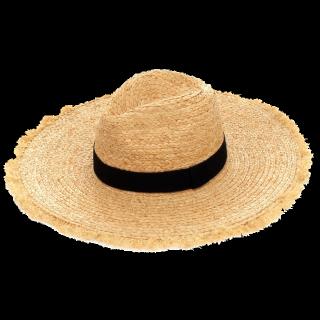 このコーデで使われているEVRISの麦わら帽子[ベージュ/ブラック]