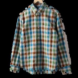 このコーデで使われているcoenのシャツ/ブラウス[ブラウン/ベージュ/ブルー]