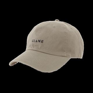 このコーデで使われているCLANEのキャップ[ベージュ/ブラック]