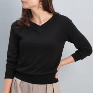 このコーデで使われているViSのTシャツ/カットソー[ブラック]