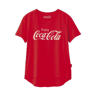 このコーデで使われているGUのTシャツ/カットソー[レッド]
