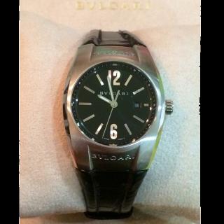 このコーデで使われているBvlgariの腕時計[ブラック/シルバー]