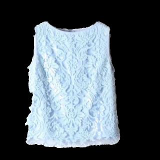 このコーデで使われているMERCURYDUOのキャミソール/タンクトップ[ブルー]