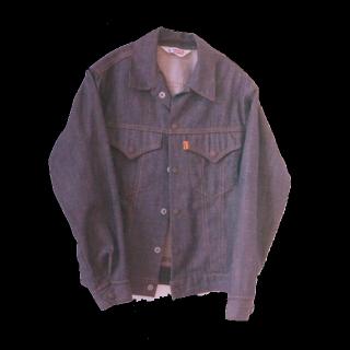 このコーデで使われているLEVI'Sのデニムジャケット[ブルー]