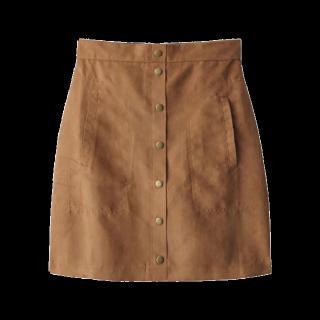 このコーデで使われているGRLのタイトスカート[キャメル/ブラウン]