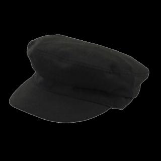 このコーデで使われているGUのキャスケット/マリンキャップ[ブラック]