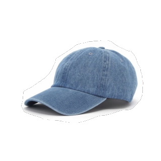 このコーデで使われているNEWHATTANのキャップ[ブルー]