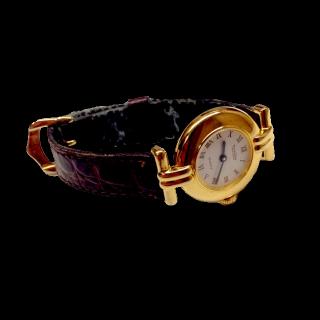 このコーデで使われている腕時計[ゴールド/ブラウン]