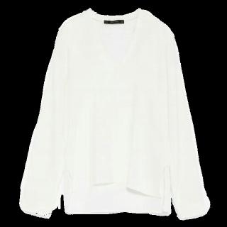 このコーデで使われているZARA BASICのシャツ/ブラウス[ホワイト]