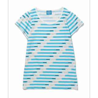 このコーデで使われているmmtsのTシャツ/カットソー[ブルー]