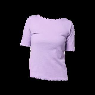 このコーデで使われているGreen ParksのTシャツ/カットソー[パープル]
