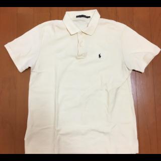 このコーデで使われているRALPH LAURENのポロシャツ[ベージュ]