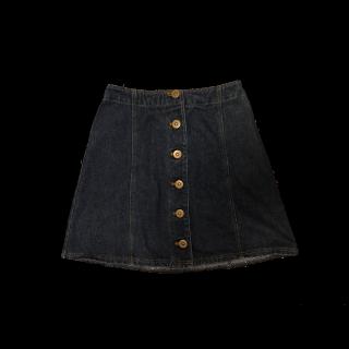 このコーデで使われているタイトスカート[ネイビー]