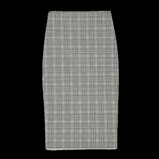 このコーデで使われているZARAのタイトスカート[グレー]