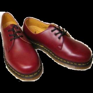 このコーデで使われているDr.Martensのブーツ[ボルドー]