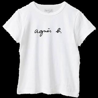 このコーデで使われているagnes b.のTシャツ/カットソー[ホワイト]