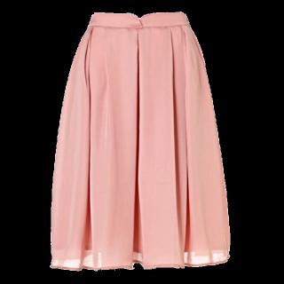 このコーデで使われているPROPORTION BODY DRESSINGのフレアスカート[ピンク]