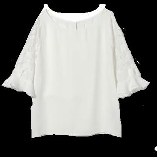 このコーデで使われているGRLのシャツ/ブラウス[ホワイト]
