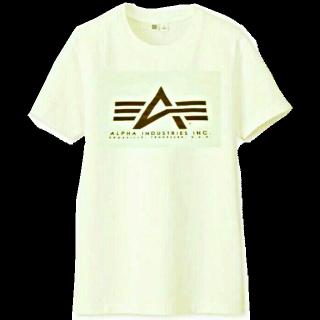 このコーデで使われているALPHA INDUSTRIESのTシャツ/カットソー[ブラウン/ベージュ]
