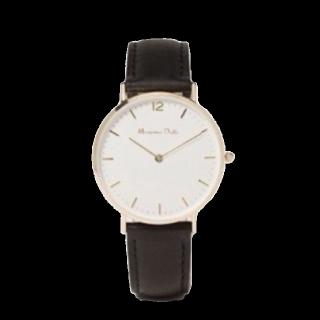 このコーデで使われているMassimo Duttiの腕時計[ブラック/ホワイト/ゴールド]