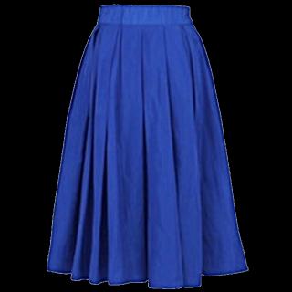 このコーデで使われているrecaのフレアスカート[ブルー]