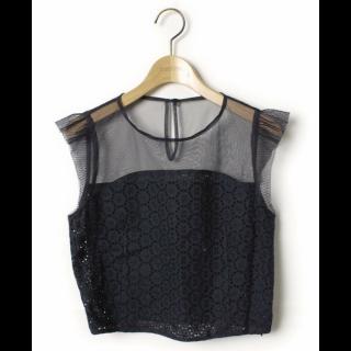 このコーデで使われているISBITのシャツ/ブラウス[ブラック/ネイビー]