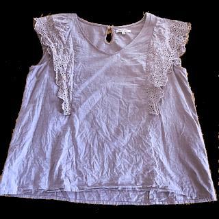 このコーデで使われているGLOBAL WORKのTシャツ/カットソー[ブルー]