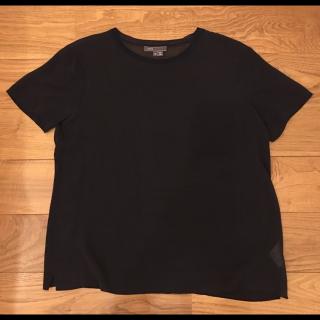 このコーデで使われているVINCEのシャツ/ブラウス[ネイビー]