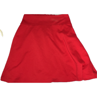 このコーデで使われているWEGOのミニスカート[レッド]