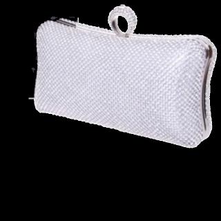 このコーデで使われているクラッチバッグ[シルバー]