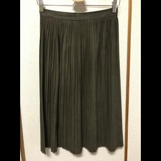 ZARAのミモレ丈スカート