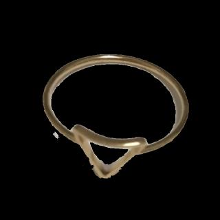 このコーデで使われているLUPISのリング[ゴールド]