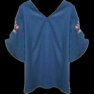 このコーデで使われているシャツ/ブラウス[ブルー]