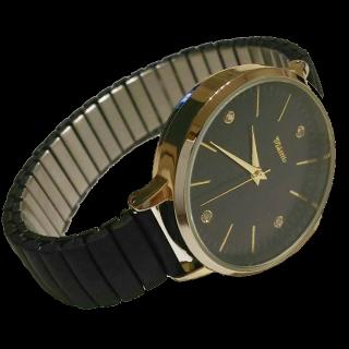 このコーデで使われている腕時計[ブラック/ゴールド]