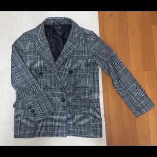 このコーデで使われているSpRayのテーラードジャケット[ブラック/グレー/ホワイト]