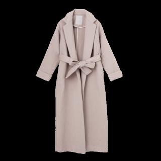 このコーデで使われているMERCURYDUOのコート[ピンク]