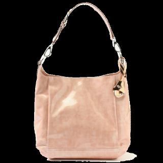 このコーデで使われている銀座かねまつのハンドバッグ[ピンク]
