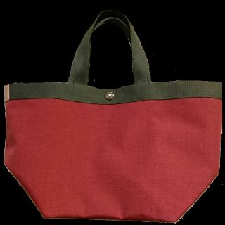 このコーデで使われているHerve Chapelierのトートバッグ[グレー/ピンク]