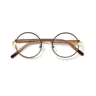 このコーデで使われているZARA MENのメガネ[ブラック/ゴールド]