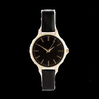 このコーデで使われているH&Mの腕時計[ブラック/ゴールド]