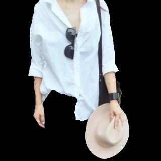このコーデで使われているUngridのシャツ/ブラウス[ホワイト]