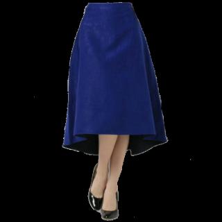 このコーデで使われているLAUTREAMONTのフレアスカート[ブルー]