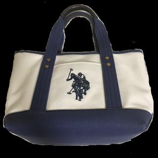 このコーデで使われているPOLO RALPH LAURENのトートバッグ[ネイビー/ホワイト]