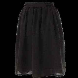 このコーデで使われているHONEYSのひざ丈スカート[ブラック]