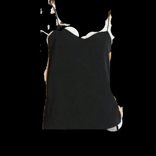 このコーデで使われているUNIQLOのベスト[ブラック]